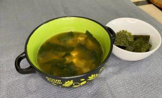 веганский мисо суп