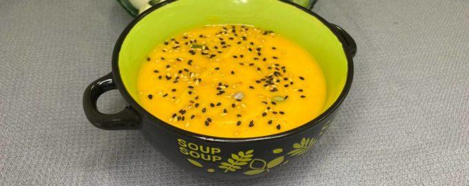 тыквенный суп пюре веганский рецепт