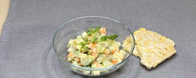 рецепт веганский оливье